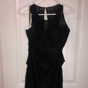 Classy Lace Black Dress